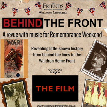 Behind the front dvd